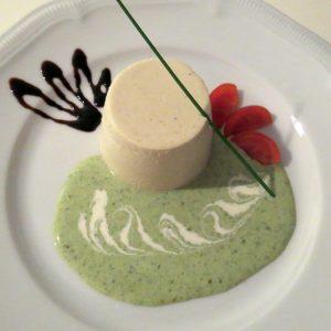 Panna grüne Sauce