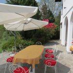 Villa Morissolina terrace